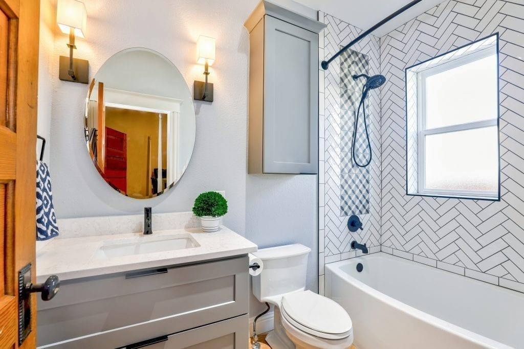 Reforma de banheiro como inovação