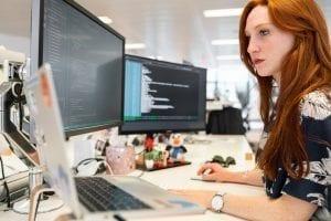 Empresas utilizando o desenvolvimento de software